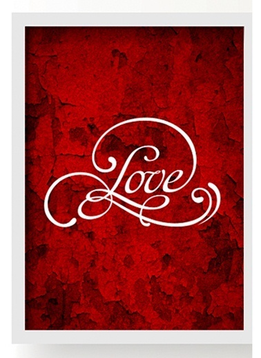 Love Duvar Poster-All About Wall